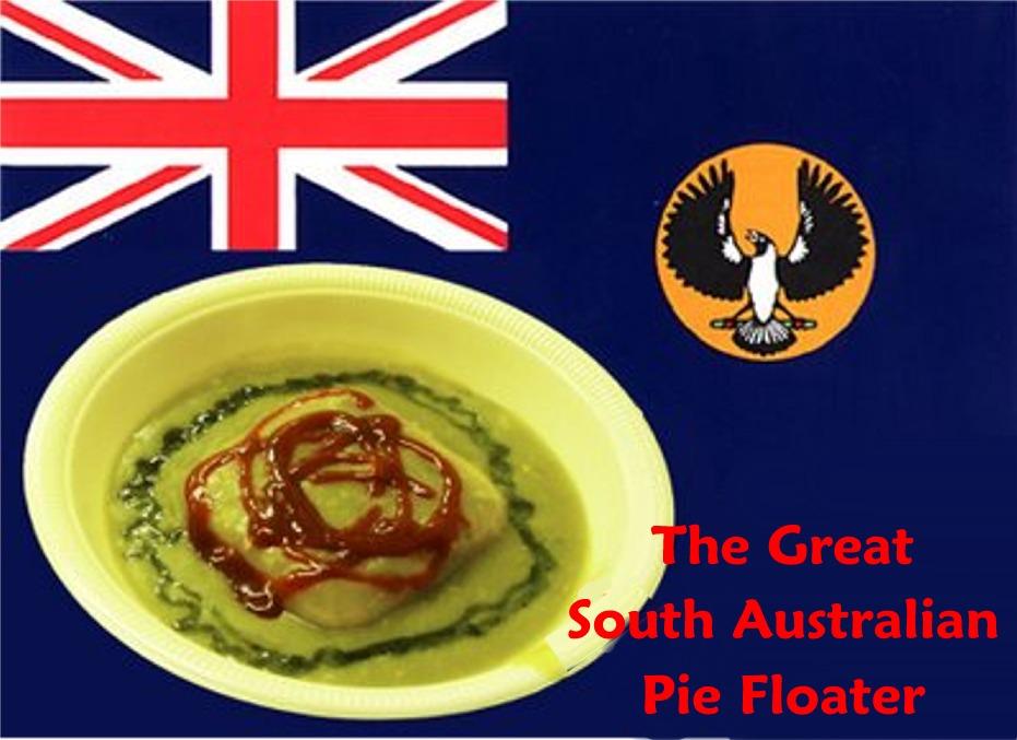 The pie cart for Australian cuisine history